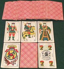 VINTAGE 1930 ARGENTINA Early Edition C DELLA PENNA * NAIPES INCA * PLAYING CARDS
