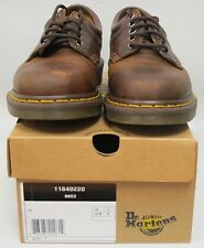 Dr. Martens Men's 8053 Leather DARK BROWN Work Shoe US 8 UK 7  NEW in BOX