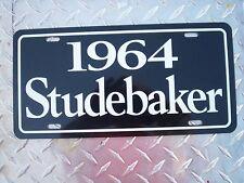 1964 Studebaker license plate tag 64 super Lark Hawk Regal Daytona Avanti stude