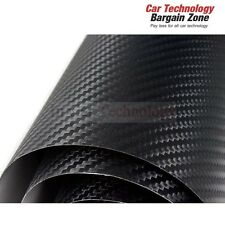 1520x2000mm 3D Textured Carbon Fiber Air Bubble Free Fibre Car Roof Vinyl Wrap