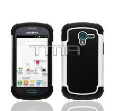 Impact Dual Layer Shock Proof Case For Samsung Galaxy Ace 2 II-E T599 - White