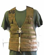 NEW U.S.M.C. COYOTE BROWN M.O.L.L.E. II FIGHTING LOAD CARRIER EQUIPMENT VEST