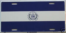 El Salvador Flag Car Auto Aluminum License Plate New