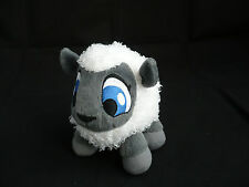 "Neopets Babaa White Gray Sheep Plush Toy Petpet 5"" Tall"