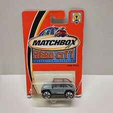 MATCHBOX Car Jeep 2002 HERO-CITY Collection #71 JEEP WILLYS NEW NIP