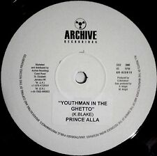 PRINCE ALLA - YOUTHMAN IN THE GHETTO 10 INCH Limited Stock!!!