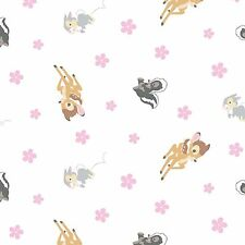 DISNEY BAMBI WOODLAND DREAMS TOSS FABRIC