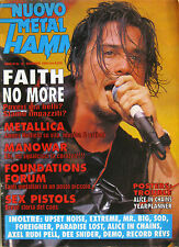 METAL HAMMER 12 1992 Faith No More Metallica Sex Pistols Manowar Foreigner SOD
