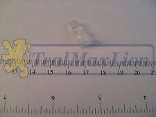 Vis plastique blanche de transparent de feu bicolore AV Peugeot 504 cc M1980-