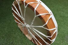 "15"" Cow Rawhide Drum Shaman, Pagan, Native American Inspired Drum"