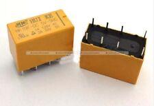 SM7 10 Pcs Type HK19F DC 5V Coil DPDT 8 Pin 2NO 2NC Mini Power Relays PCB IND010