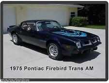 1975 Pontiac Firebird Trans Am Auto Car  Refrigerator / Tool Box  Magnet