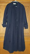 KASPER A.S.L.  WOMEN'S DARK BLUE TRENCH COAT SIZE 6