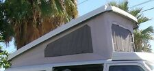New 3-Window Replacement Pop Top Canvas for the VW Eurovan Camper