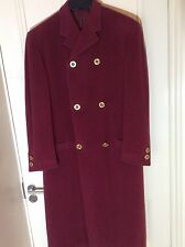Gianni Versace Rare Vintage Couture Main Line Full Length Coat Unique Very Rare