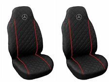 Front Seat Covers Mercedes A , B , C ,E class Vito  Viano , Sprinter RED PIPING