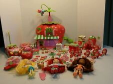 STRAWBERRY SHORTCAKE Lot Berry Bitty Cafe REMOTE CONTROL CAR Dolls & ACCESSORIES