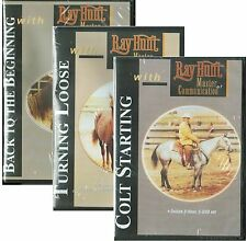 Ray Hunt Colt Starting, Turning Loose, Back to the Beginning 4 DVD Set BRAND NEW
