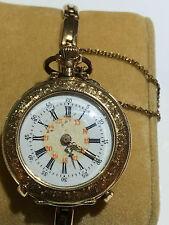 Antike Taschenuhr Armbanduhr 585 er Gold für Damen zwischen 1890 bis 1920