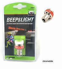 12V LED REVERSE BEEPER BACK UP ALARM WARNING ALERT LIGHT BULB CAR SENSOR P21W