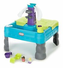 NEW IN BOX Little Tikes Sandy Lagoon Waterpark Play Table Teal/Green FREE ITEMS
