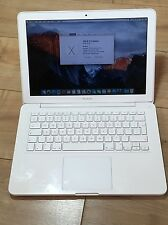 "Apple White Unibody Macbook 13"" 2.26GHz Core 2 Duo 4GB RAM 