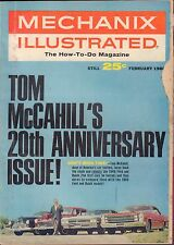 Mechanix Illustrated February 1966 20th Anniversary Issue VG 061316DBE