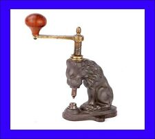 Original Antique Eyelet and Snap-Button Machine. France, Early 20th Century
