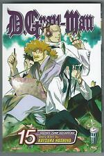 D.Gray-Man 15 Katsura Hoshino Shonen Jump Advanced Viz Media 2009 Good Condition