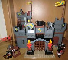 LEGO DUPLO ritterburg 4777 château Knights 'Castle FORTERESSE château avec tour Chevalier