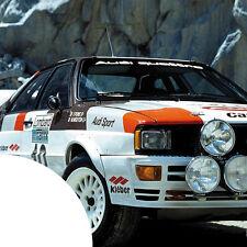 Audi Quattro XXL Auto Aufkleber für die Frontscheibe Rallye