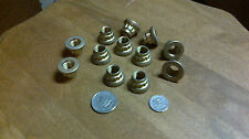 12 Point nuts 1 doz. 7/16-20 UNF Cad plate finish captive washer New