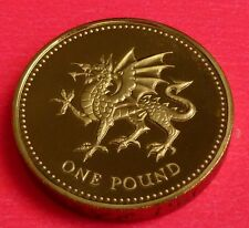 2000 ROYAL MINT WELSH DRAGON £1 ONE POUND  PROOF COIN