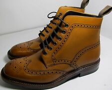 Loake Burgh Tan Boot 8.5 F - Slight Seconds RRP £245 (3250)