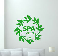Spa Salon Wall Decal Beauty Massage Club Fashion Vinyl Sticker Decor Mural 43bar