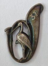 Insigne boutonnière 31° BCP Chasseurs à Pied miniature  WWII 1939 authentique