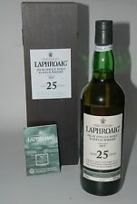 WHISKY LAPHROAIG 25 YEARS OLD ISALY SINGLE MALT IN BOX 70cl