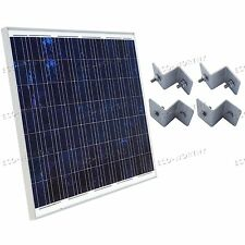 180Watts Off Grid Poly Solar Panel System 24V w/ Bracket RV Boat Battery Charger