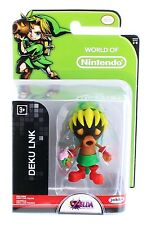 "World of Nintendo Series 1-6 DEKU LINK 2.5"" Action Figure by Jakks Pacific"