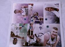 1994 SKYBOX EMOTION 6 CARD PANEL RARE KARL MALONE DOMINIQUE WILKENS CHRIS MULLIN