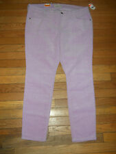 Old Navy Rock Star Super Skinny Corduroy Pants Size 16 NEW NWT Lavender Purple