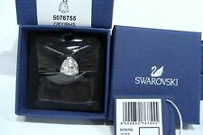 Swarovski Brief Pendant, Necklace Chain Clear Crystal Authentic MIB - 5076755
