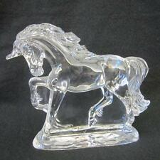 WATERFORD CRYSTAL 6.5 INCH LEGENDS AND LORE UNICORN - ENGRAVED