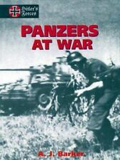 Panzers at War (Hitler's Forces) (Vol 1), A Barker, Good Book