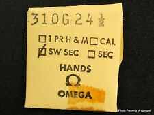 Vintage ORIGINAL OMEGA 310 G 24 1/2 Hand! Gilt Sweep Second Hand !