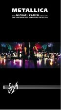 METALLICA 'S&M - WITH SAN FRANCISCO SYM' 2 DVD NEW+