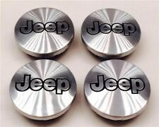 4X New Jeep Grand Cherokee Wrangler Liberty Commander BrushWHEEL CENTER HUB CAPS