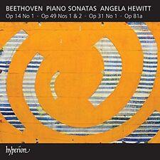 Beethoven / Angela H - Beethoven: Piano Sonatas, Vol. 6 [New CD]