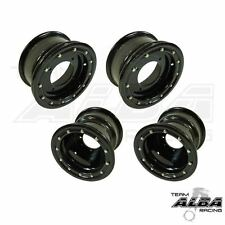 YFZ 450 450R  Front  Rear Wheels  Beadlock  10x5 and 9x8  Alba Racing  B/B   41