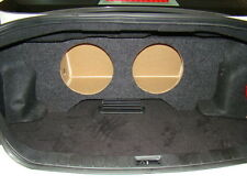 "ZEnclosures Subwoofer Box for 2009-13 Infiniti G37 SEDAN 2-10"" Sub Speaker Box"